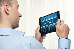 News concept Royalty Free Stock Photography