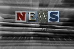 News Concept Royalty Free Stock Photos