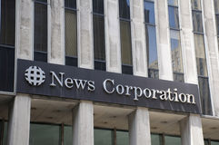 News Corp. Headquarters Stock Photography