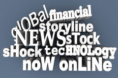 In the News Royalty Free Stock Image