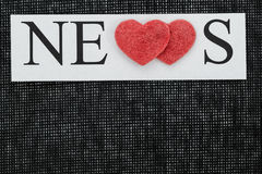 News of events Stock Image