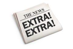 News Extra Royalty Free Stock Photo