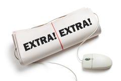 News Extra Royalty Free Stock Image