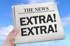 News Extra Stock Image