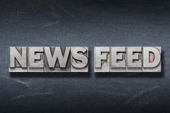 Free News Feed Den Stock Images - 108573224