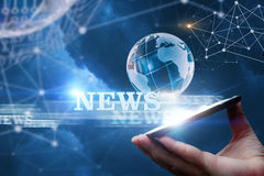 News From The Network From . Royalty Free Stock Image