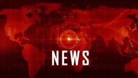 News generic background stock video