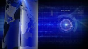 News generic background stock footage