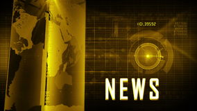 News generic background stock video footage