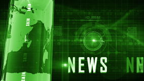 News generic background stock video