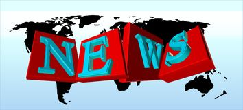 News, Globe, Earth, World Royalty Free Stock Images