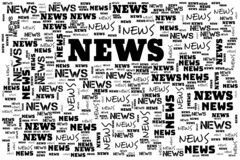 Free News Header Wording Abstract Background Illustration Royalty Free Stock Images - 181746299