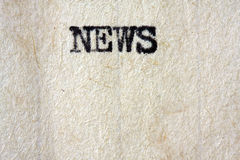 News Headline Royalty Free Stock Images
