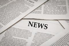 News headline Royalty Free Stock Image