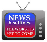 News headlines Stock Photos