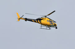 News Helicopter Royalty Free Stock Photos