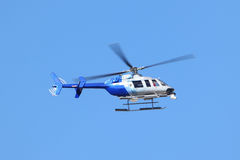 News helicopter Stock Photography