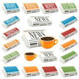 News icon Stock Photography