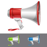 News icon. Vector loudspeaker as announcement icon Royalty Free Stock Photo