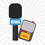 News icon design Royalty Free Stock Photography