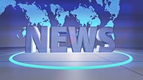News intro stock video