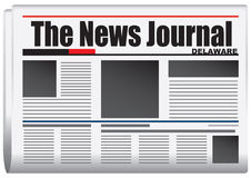 The News Journal Royalty Free Stock Photos