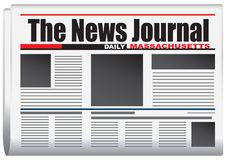 The News Journal Daily Massachusetts Royalty Free Stock Photos