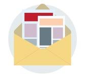 News latter Business concept vector design. Stock Photography