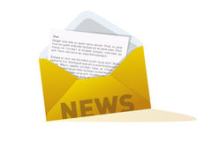 News letter Royalty Free Stock Photo