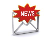 News letter Royalty Free Stock Photography