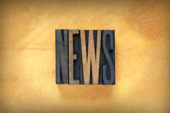 News Letterpress Stock Images