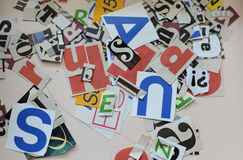 News letters Stock Photo