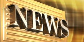 News Logo Stock Photography