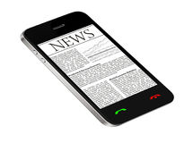 News on Mobile Phone Stock Images