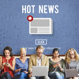 News Newsletter Announcement Update Information Concept Royalty Free Stock Photos