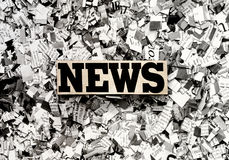 News. The News (Newspaper concept background image royalty free stock photos