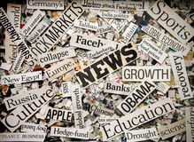 News. The News (Newspaper concept background image stock images