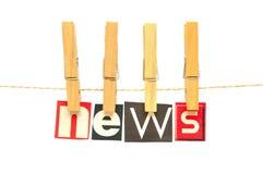NEWS Royalty Free Stock Photo