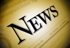Free News Newspaper Text Stock Photos - 7582783