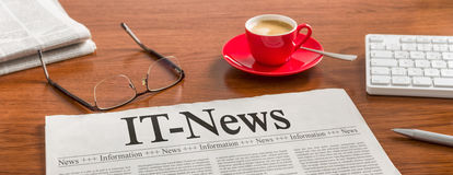 IT-News Royalty Free Stock Photo