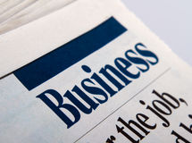 News paper Stock Image