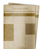 News paper. Image easy to modify Royalty Free Stock Photo