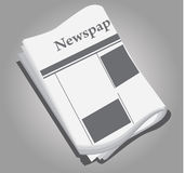 News paper Stock Photo