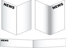 News paper Royalty Free Stock Image