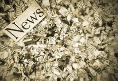 News paper Royalty Free Stock Photos