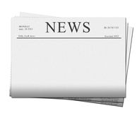 News papers Stock Photography