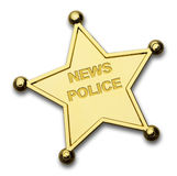 News Police Royalty Free Stock Image