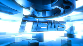 NEWS Report Graphic Animation stock video footage
