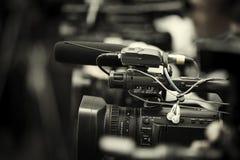 News shooting stock illustration