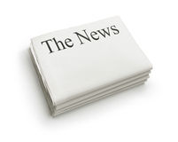 The news Royalty Free Stock Photography